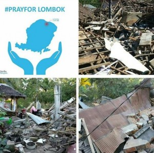 gempa lombok, pray for lombok